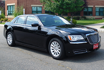 Black Chrysler Sedan Limousine