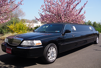 Black Lincoln Stretch Sedan Limousine